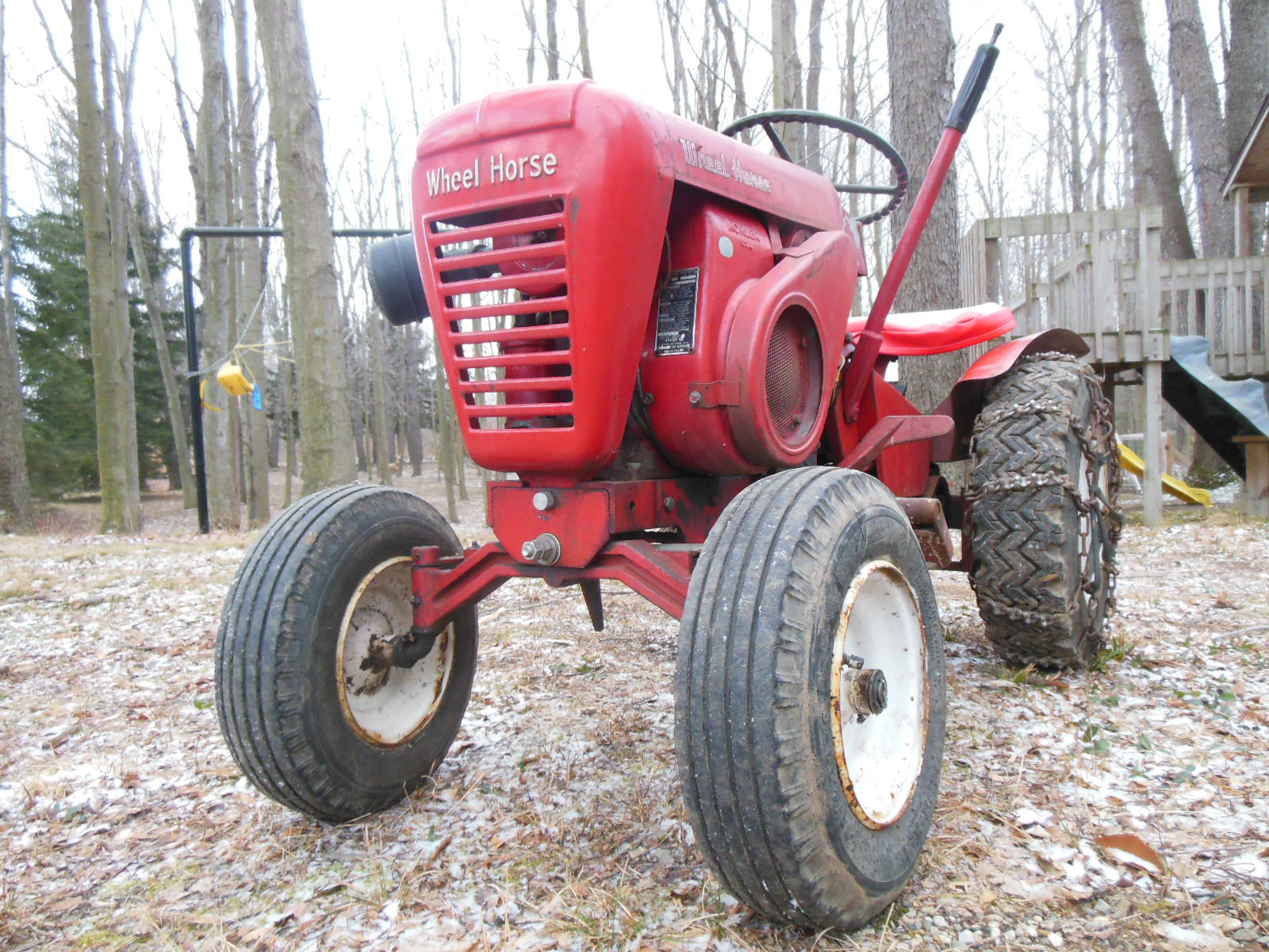 1964 Wheel Horse Tractor : June tractor of the month roundies including